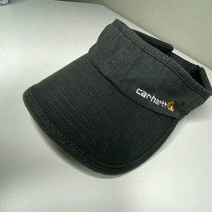 Carhartt Black Work Visor Hat One size